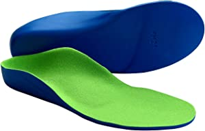 Orthotic Inserts for Kids - Childrens Flat Feet and Arch Support Insoles (22cm Big Kids 2.5-4)
