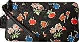COACH Women's Daisy Floral Print Double Zip Wallet