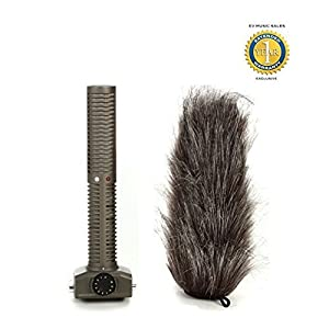 Zoom SSH-6 Stereo Shotgun Microphone Capsule for Zoom H5, H6 and Q8 Handy Recorders GPS Units at amazon