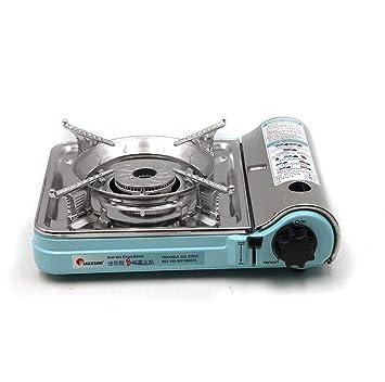 CY&Y Horno de Cassette portátil al Aire Libre, Placa de Horno magnético de Gas hogar