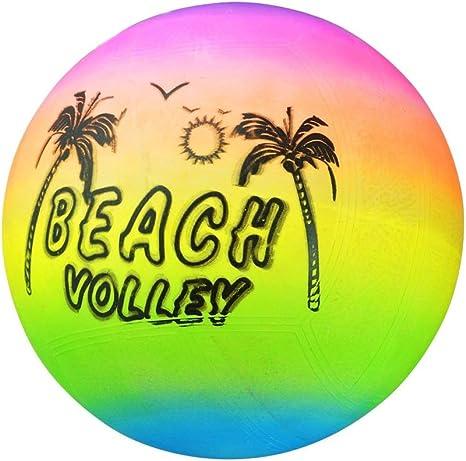 TAKEMORE7 - Pelota de Voleibol de Playa, arcoíris Hinchable, de ...