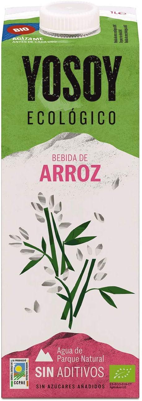 Yosoy, Bebida Ecológica de Arroz, Pack de 6 x 1L: Amazon.es ...