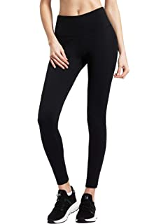 ef0500b093040d Queenie Ke Women Power Flex Yoga Pants Workout Running Leggings No  See-Through