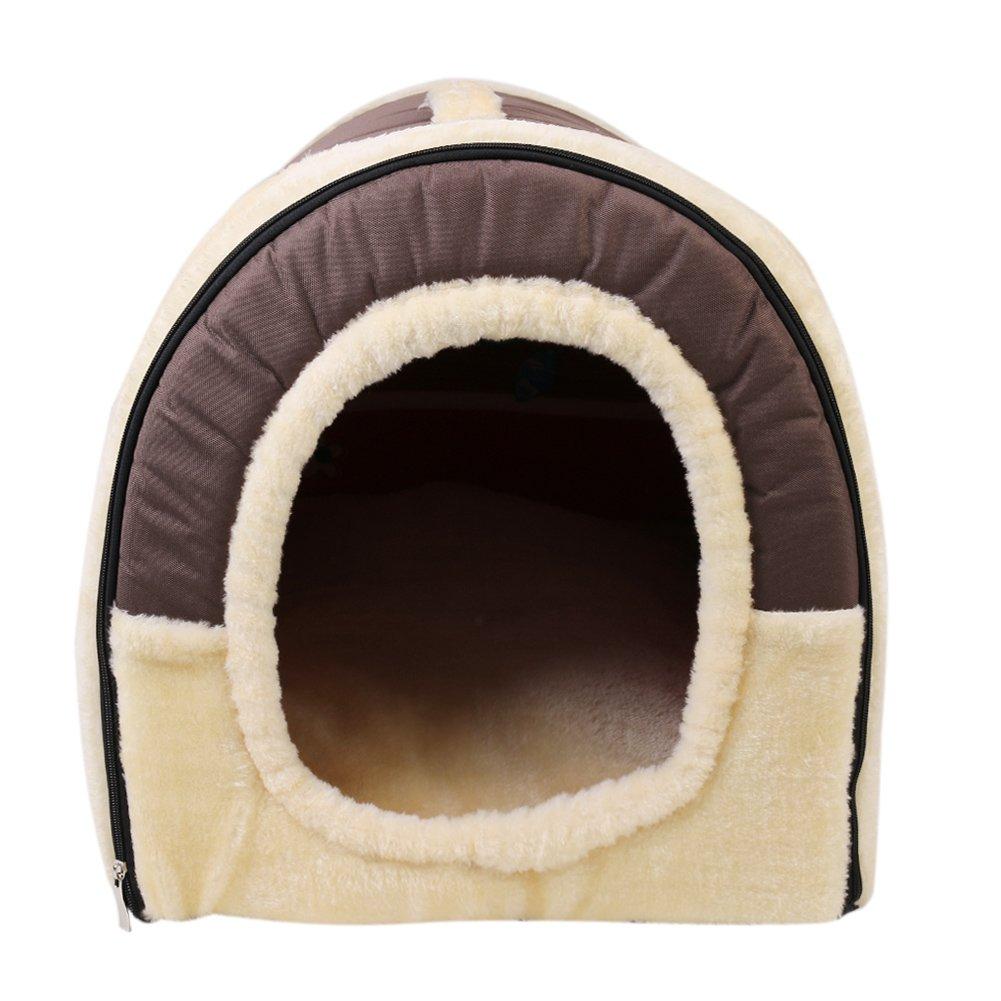 Casa para gatos perros cama mascota habitacion  Casa y Sofá Antideslizante