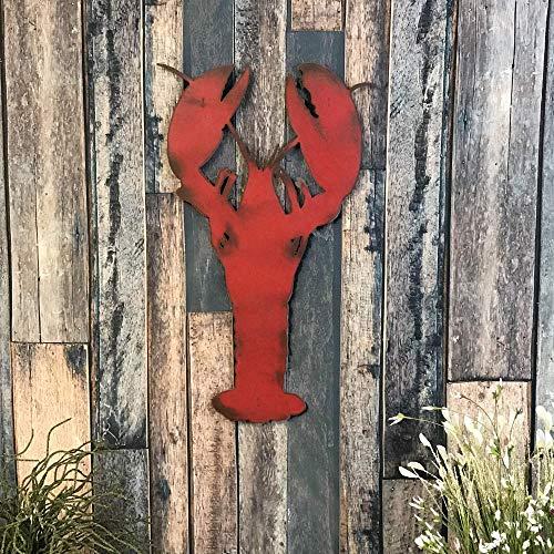 Lobster - Metal Wall Art Home Decor - Handmade - Choose 11