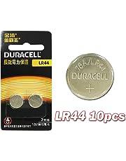 Duracell 10x LR44 Battery Button Coin Cell Batteries Alkaline 1.5V Long Shelf Life