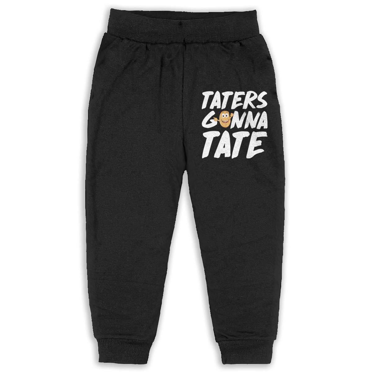 Laoyaotequ Taters Gonna Taste Funny Potato Kids Cotton Sweatpants,Jogger Long Jersey Sweatpants