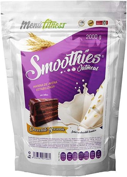 Menu Fitness Oat Smoothies - 2000 gr - Sabor: Chocolate Brownie ...