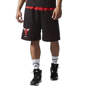 adidas B45453 Pantalón Corto Chicago Bulls de Baloncesto, Hombre ...