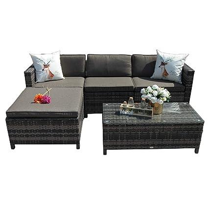 Amazon.com: Patiorama - Muebles de exterior (5 unidades ...
