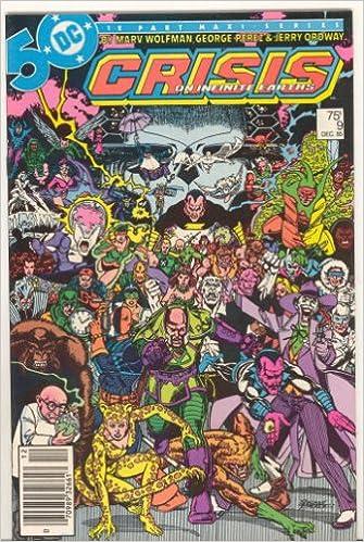 Crisis on Infinite Earths #9, 1985: Marv Wolfman, George ...