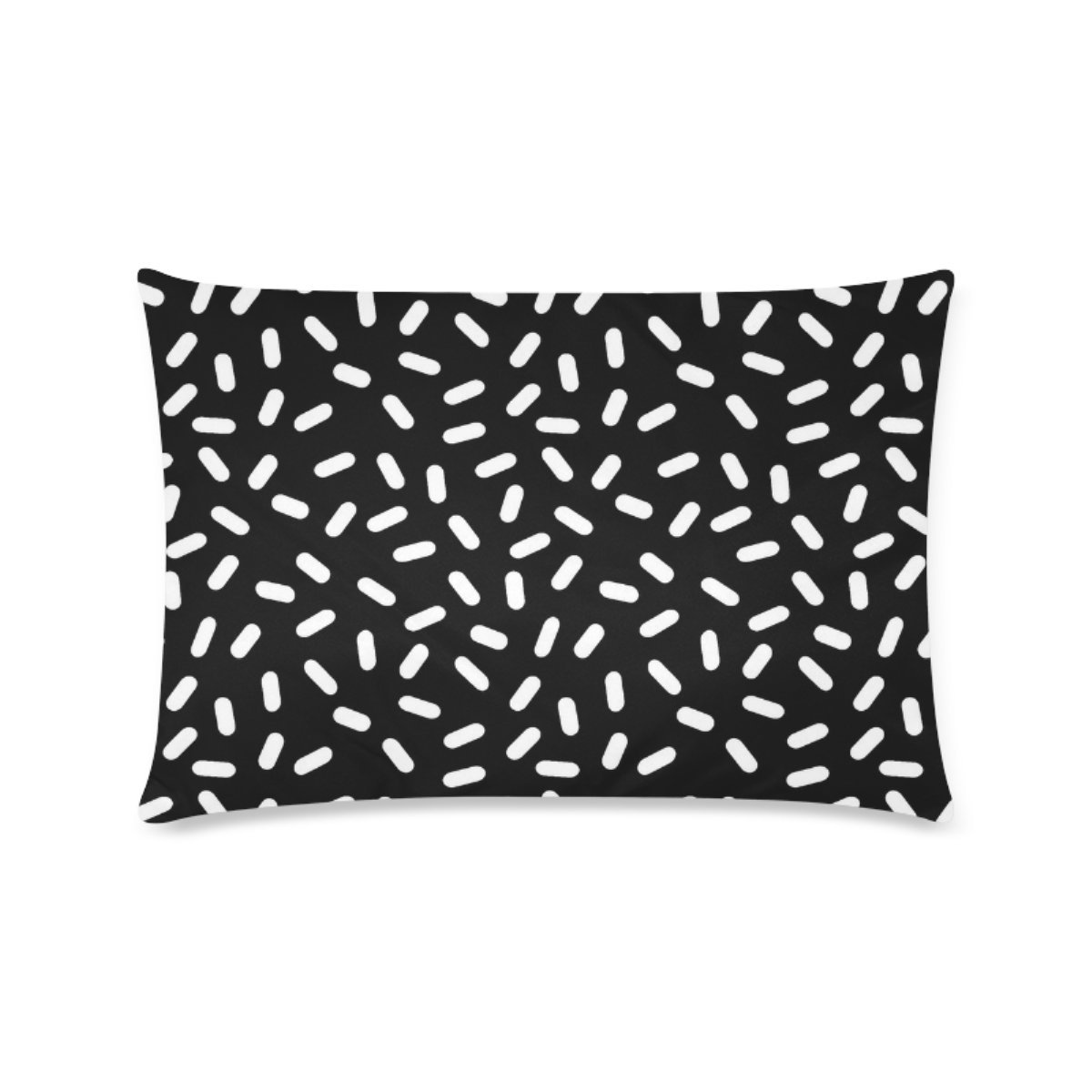 Custom Bingo Black And White Personalized Pillowcases Zippered Pillow Covers 16 by 24 Inches Two Sides by BEAYCovers