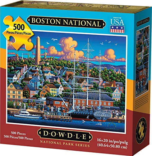 Dowdle Jigsaw Puzzle - Boston National Historic Park - 500 Piece