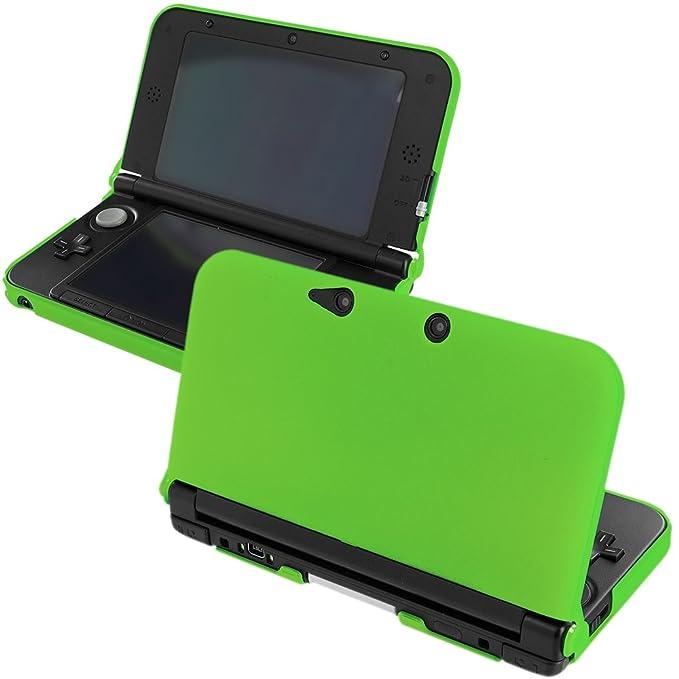 Verde carcasa de goma para Nintendo 3DS XL: Amazon.es ...