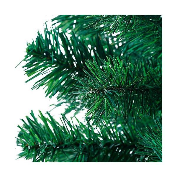 Mctech, albero di Natale artificiale, colore: verde, PVC, 210cm 3 spesavip