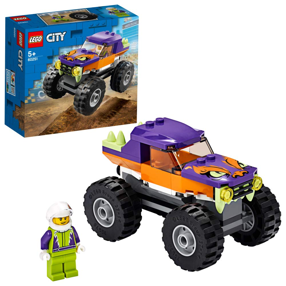 レゴ(LEGO) シティ パワフル モンスタートラック 60251