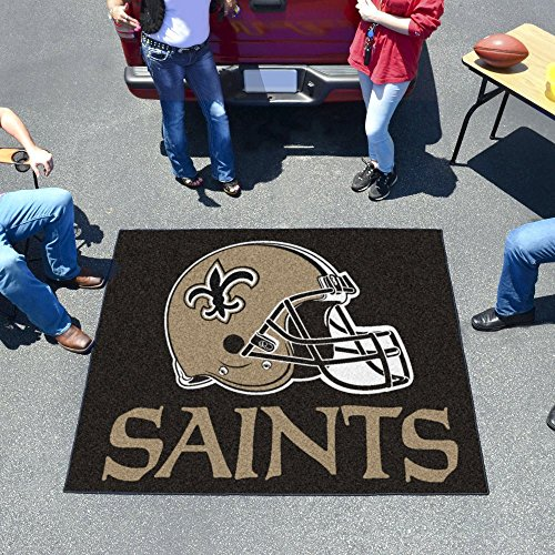 NFL - New Orleans Saints Tailgater Rug 60''x72'' by Fanmats
