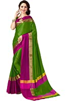 Best Collection Women`s Art Silk Saree With Blouse Piece