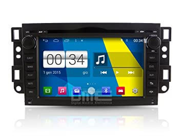 Radio Chevrolet Captiva Aveo Epica Spark Android 4.4 Touch 8quot ...