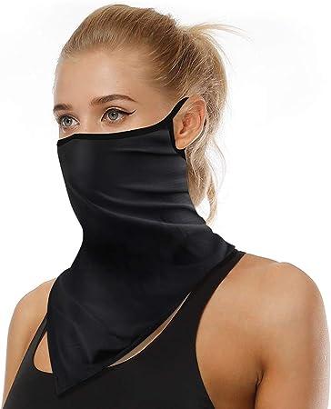 Breathable Motorcycle Neck Gaiter Cycling Sun Face Mask Ice Silk Scarf Bandana