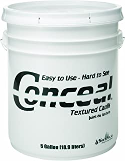 product image for Sashco 46065 Conceal Acrylic Latex Textured Caulk, 5-Gallon Pail