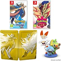 Pokemon Sword and Shield Dual Edition (Nintendo Switch) + Pokemon Figurine Pre-order Gift