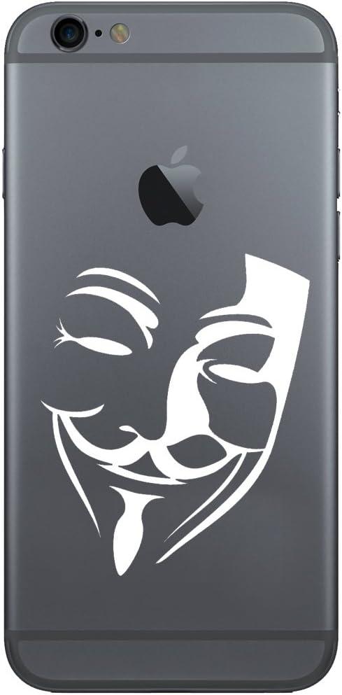 V for Vendetta Sticker Decal for mobile phone cell vinyl 2x