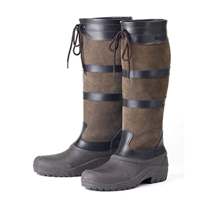 Amazon.com : EquiStar Finley Country Boot All-Weather Foot : Shoes