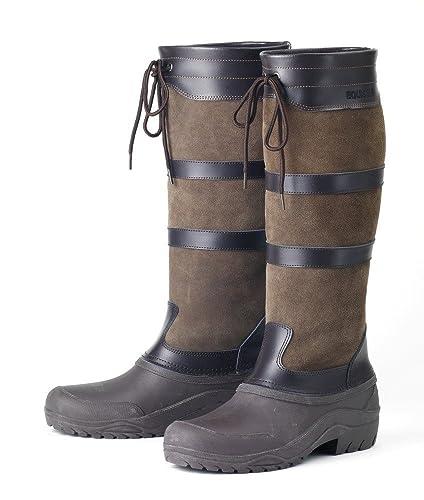 3dc3df2c263e Amazon.com: Horseware Ireland HW Riding Boots Lds Ex Wide 40: Shoes