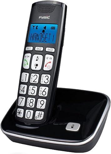Teléfono inalámbrico con teclas grandes: Amazon.es: Electrónica