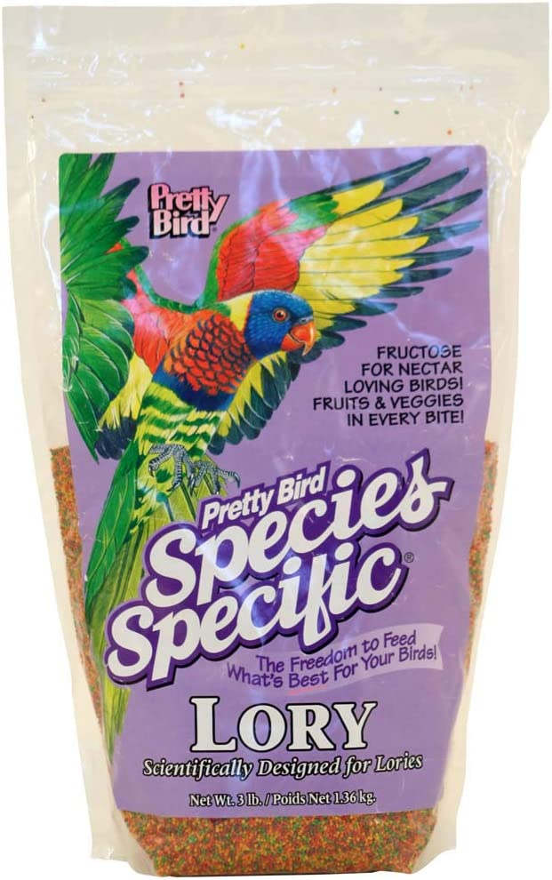 Pretty Bird Species Specific Lory Bird Food (3 Lbs.)
