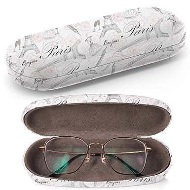Amazon.com: Carcasa rígida para gafas de sol con gamuza de ...