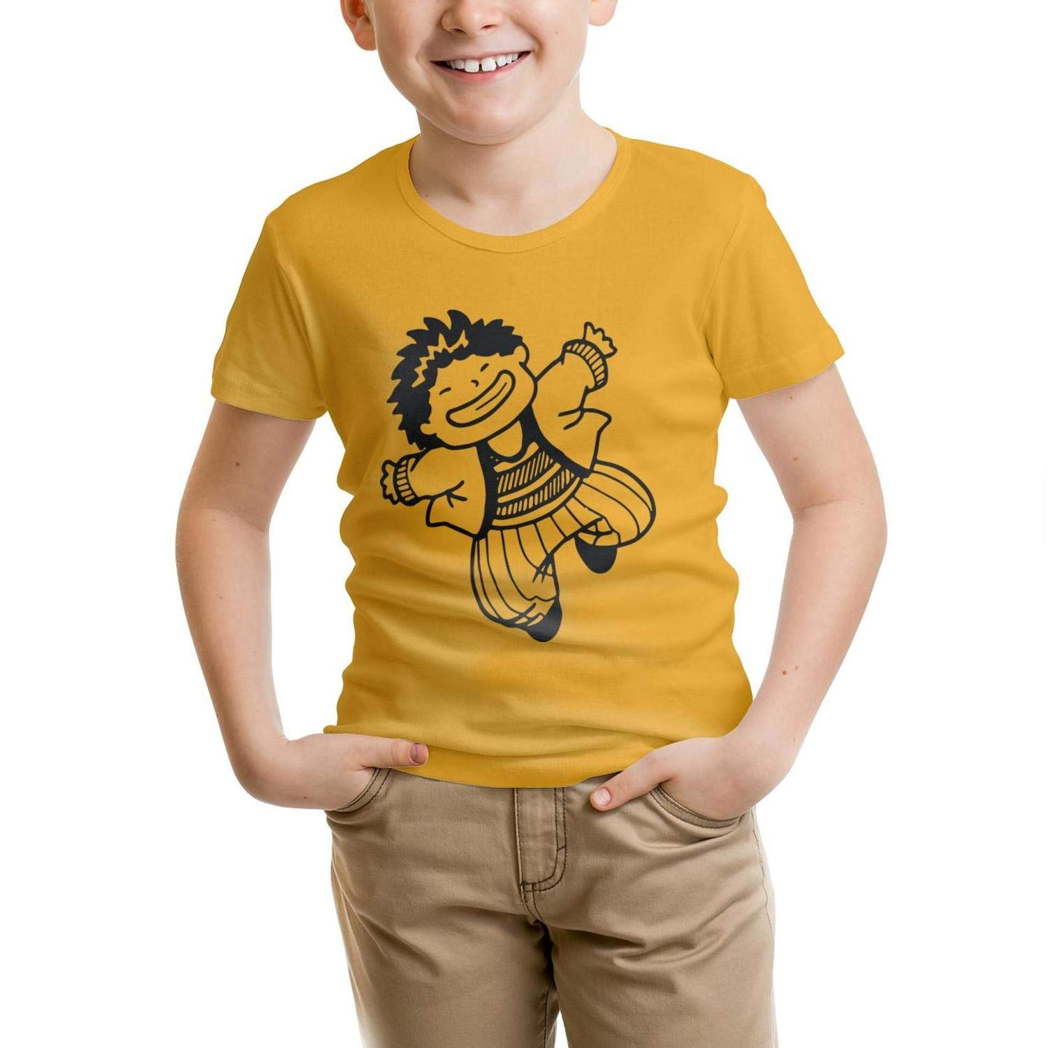 Childrens Acrobatic Performance Boys CottonTee Novelty forYoung Shirts Laconic Parttern