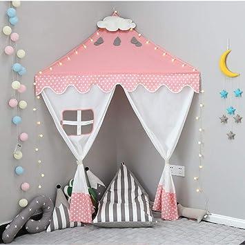 Nordic Ideas Kinder Spielzelt Mädchen Jungen Zelt für ...