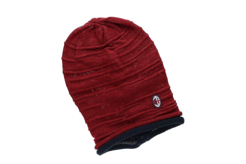 MILAN - ENZO CASTELLANO Cappello uomo donna rosso rasta prodotto ufficiale  VL39J  Amazon.it  Abbigliamento d5ee3cd27536