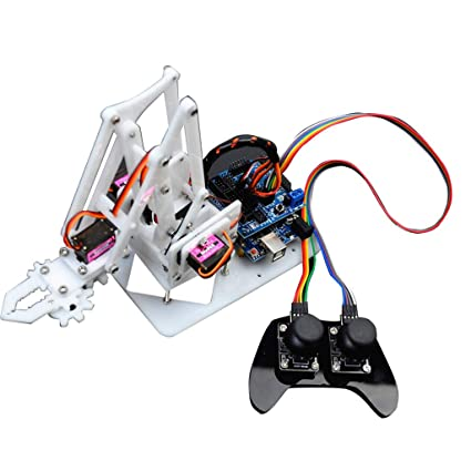 Baoblaze DIY 4 Degree of Freedom PS2 Remote Control Robot