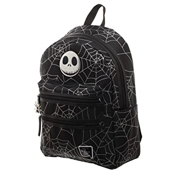 aa877f1b200 Amazon.com | Nightmare Before Christmas Backpack - Jack Skellington Spider  Backpack | Casual Daypacks