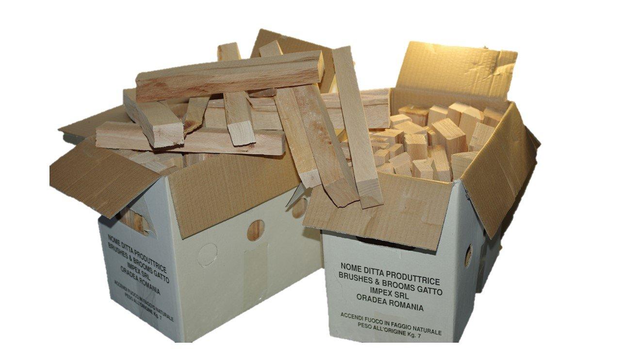 Madera de haya natural para BARBACOAS y otros usos en envase de 7 kg: Amazon.es: Jardín