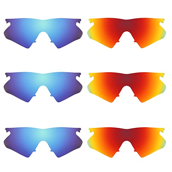 Revant Replacement Lenses for Oakley M Frame Heater 6 Pair Combo ...