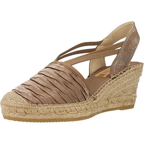 Alpargatas para Mujer, Color marrón, Marca VIDORRETA, Modelo Alpargatas para Mujer VIDORRETA 18400DUCL Marrón: Amazon.es: Zapatos y complementos