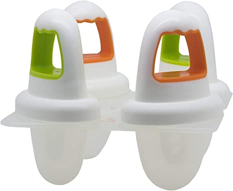 Annabel Karmel Nuk Ice Moldes de Polo Blanco: Amazon.es: Bebé