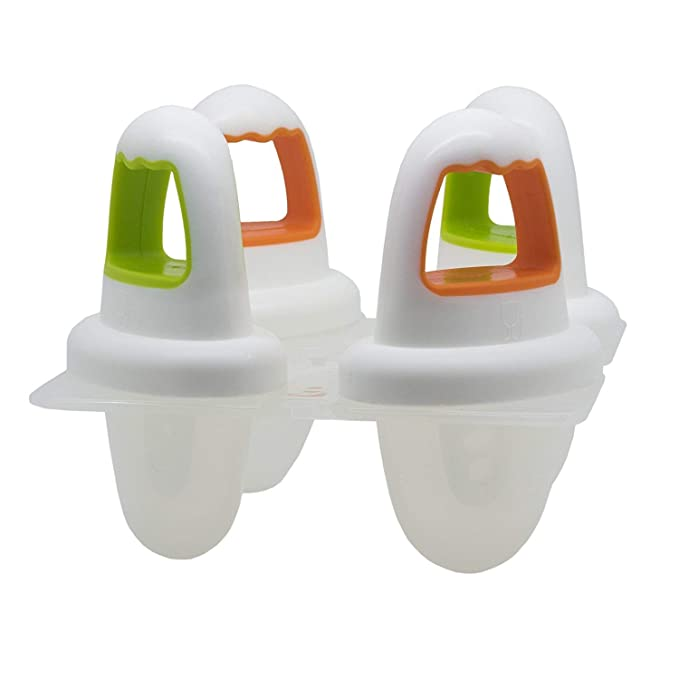 Annabel Karmel Nuk Ice Moldes de Polo Blanco: Amazon.es: Bebé