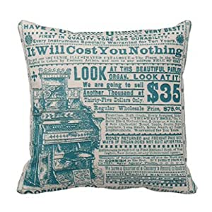 Austin City of Texas State Typography Art Throw Pillows Case 16*16
