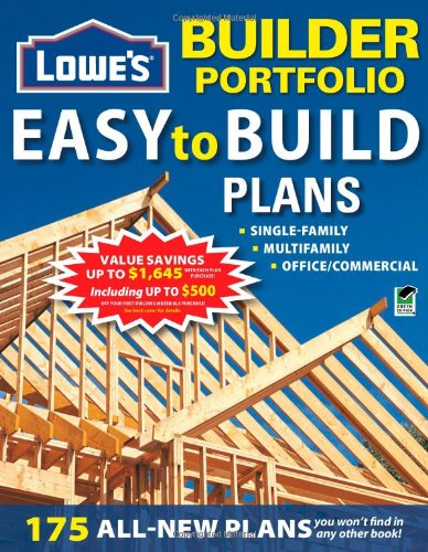 Lowe's Builder Portfolio: Easy-to-Build Plans (Home Plans)