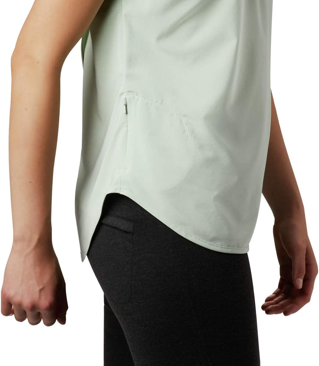 Columbia Womens Place to Place Short Sleeve Sun Shirt Place to Place Ss Sun Shirt