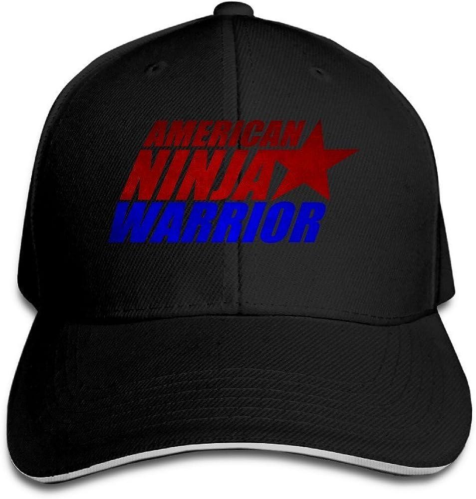 GJdd/_diy American Ninja Warrior Flexfit Baseball Cap Black