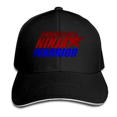 American Ninja Warrior Flexfit Baseball Cap Black: Amazon.es ...