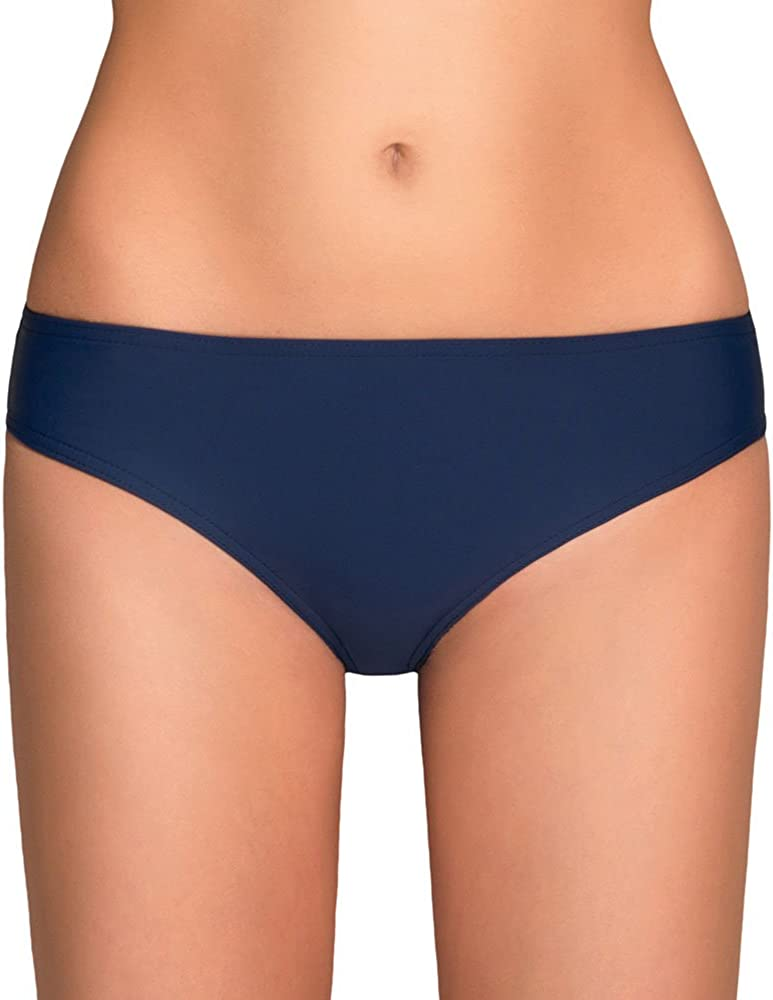 Vivisence 3003 slip per bikini liscio aderente uniforme a vita regolare