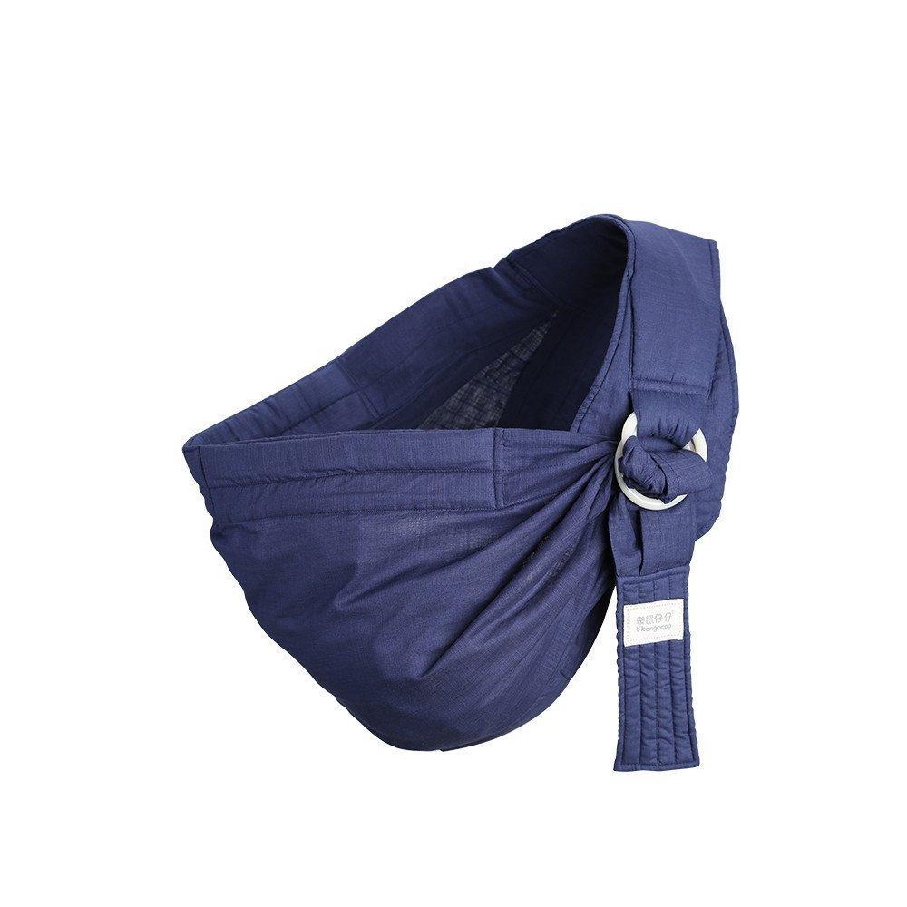 Po& Jo Babytrage für Männer und Frauen Baby Wrap SlingTragehilfe - Das beste Geschenk für Baby Shower von BabyCakes (Blue) Kangaroobaby