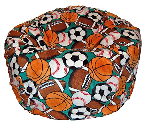 Fleece Washable Large Bean Bag Chair